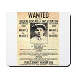 Baby Face Nelson Mousepad