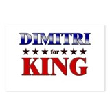 DIMITRI for king Postcards (Package of 8)