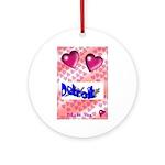LOVE DETROIT  Ornament (Round)