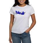 DETROIT FANCY LETTERING Women's T-Shirt