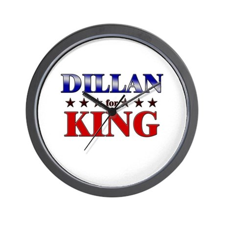 DILLAN for king Wall Clock