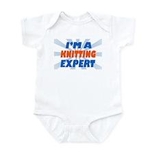 Cute Knitting expert Infant Bodysuit