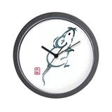 Inquisitive Mouse Wall Clock