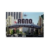 Reno Biggest Little City Rectangle Magnet