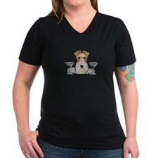 Wire Fox Terrier Martini Shirt