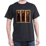 VARGA Triptych on Black Tshirt