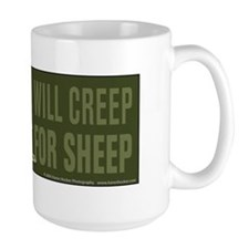 Border Collie Will Creep for Sheep Mug