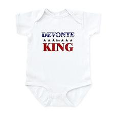 DEVONTE for king Infant Bodysuit