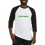 USDA Organic Baseball Jersey