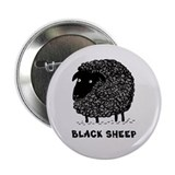 Black Sheep 2.25&quot; Button (10 pack)