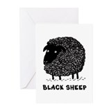 Black Sheep Greeting Cards (Pk of 10)