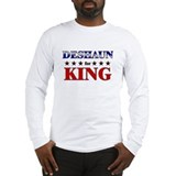 DESHAUN for king Long Sleeve T-Shirt