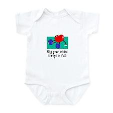 May Your Bobbin Be Full - Sew Infant Bodysuit