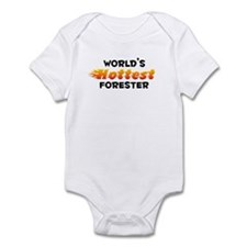 World's Hottest Fores.. (B) Infant Bodysuit