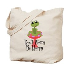 Don't Worry Be Hoppy Tote Bag