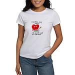 cross-stitch and chocolate Women's T-Shirt
