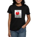 cross-stitch and chocolate Women's Dark T-Shirt