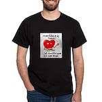 cross-stitch and chocolate Dark T-Shirt