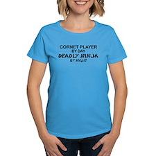 Cornet Player Deadly Ninja Tee