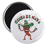 "Cinco de Mayo Chili Pepper 2.25"" Magnet (100 pack)"