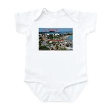 St. Maarten-Downtown by Khonc Infant Bodysuit