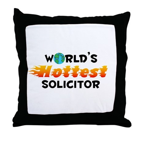 World's Hottest Solic.. (C) Throw Pillow