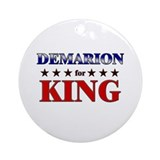 DEMARION for king Ornament (Round)