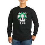 1up Mushroom Long Sleeve Dark T-Shirt