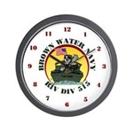 RivDiv 515 River Rats Wall Clock