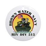 RivDiv 515 River Rats Ornament (Round)