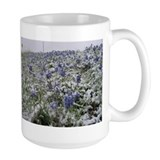 Bluebonnets and Snow Coffee Mug