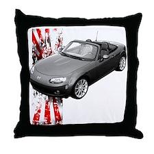 MX5 Japan Throw Pillow