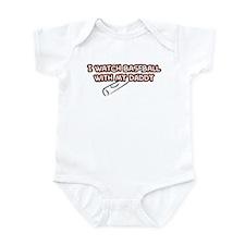Baltimore Baseball Daddy Infant Bodysuit
