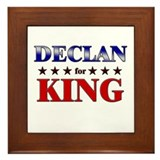 DECLAN for king Framed Tile