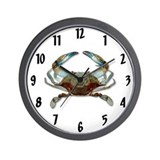 Funny Crab Wall Clock