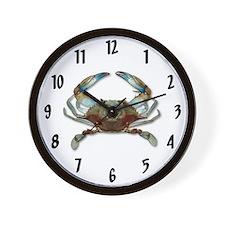 Cute Crab Wall Clock