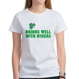 Drinks Well With Others- Tee