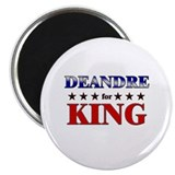 "DEANDRE for king 2.25"" Magnet (10 pack)"
