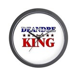 DEANDRE for king Wall Clock