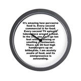 Adams quotation Wall Clock