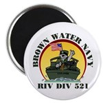 RivDiv 521 River Rats Magnet