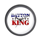 DAYTON for king Wall Clock