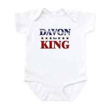 DAVON for king Infant Bodysuit