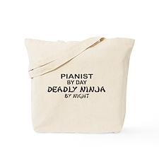 Pianist Deadly Ninja Tote Bag