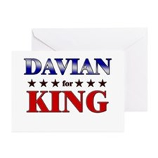 DAVIAN for king Greeting Cards (Pk of 20)