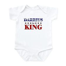 DARRIUS for king Infant Bodysuit