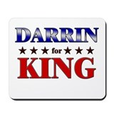 DARRIN for king Mousepad