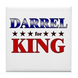 DARREL for king Tile Coaster