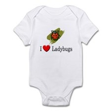 I Love Ladybugs Infant Bodysuit