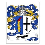 Brandt Family Crest Small Poster